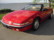1991 Buick Reatta Red Convertible!