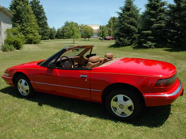 1990-38 Red Ragtop