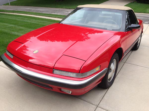 1990-39 Red Ragtop