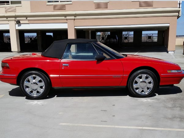 1990-49 Red Ragtop