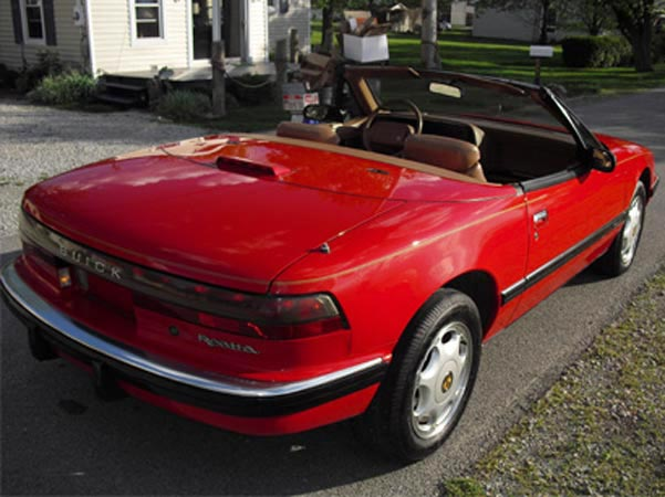 1991-04 Red Ragtop back